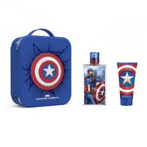 Marvel Captain America Eau De Toilette Spray 100ml Set 3 Parti 2020