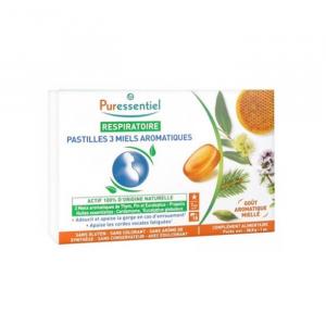 Puressentiel Respiratorio 3 Miele Aromatico 18 Compresse