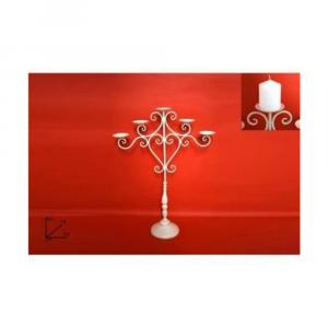 Due Esse Candeliere in Ferro 5P 80 cm