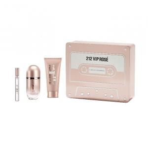 Carolina Herrera 212 Vip Rosé Eau De Parfum Spray 50ml Set 3 Parti 2020