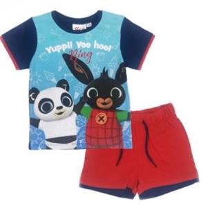 Completo T-Shirt con Pantaloncino Bing Coniglietto Mis.  6 anni