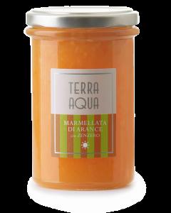 Marmellata di Arance Tarocco con Zenzero | Peso netto 120g-240g |