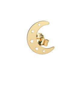 Orecchino Singolo Lobo Luna