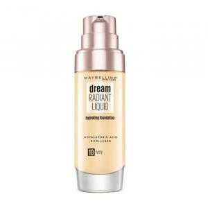 Maybelline Dream Satin Liquid Foundation & Serum 10 Ivory 30ml
