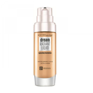 Maybelline Dream Satin Liquid Foundation & Serum 1 Natural Ivory 30ml