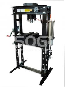 Pressa idraulica oleopneumatica doppia velocit SOGI P45-MP da 45 Ton