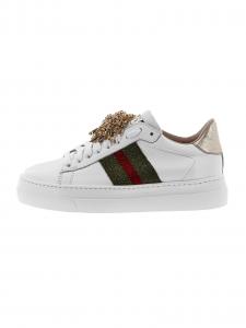Sneakers STOKTON 858-D Bianco+nastro ve