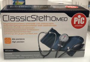 Pic sfigmomanometro aneroide con stetoscopio