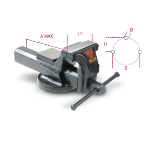 MORSE PARALLELE DA BANCO BETA 1599F 100/125/150/175mm