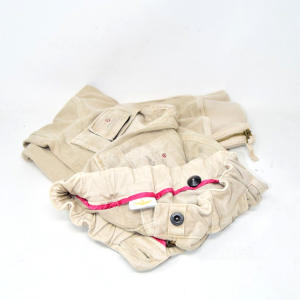 Pantaloni Donna Aeronautica Militare Biege Tg S