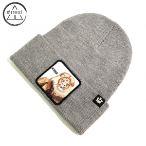 Goorin Bros - Animal Farm Beanie - King grigio