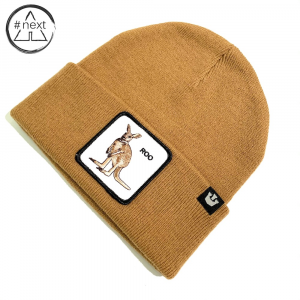 Goorin Bros - Animal Farm Beanie - Roo cammello