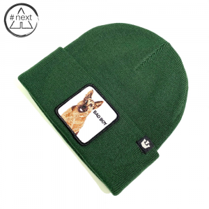 Goorin Bros - Animal Farm Beanie - Bad Boy verde