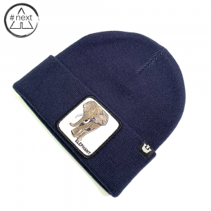 Goorin Bros - Animal Farm Beanie - Elephant blue navy