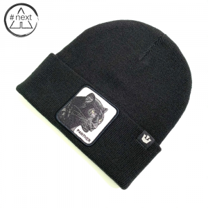 Goorin Bros - Animal Farm Beanie - Panther nero