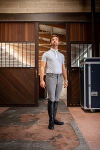 Brave - uomo pantaloni equitazione 4S