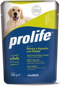 PROLIFE BUSTA RENNA, AGNELLO E PATATE 300 GR