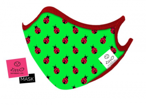 Zitto mask kids Ladybug
