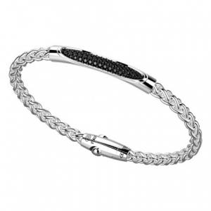 Zancan, Bracciale con pietre nere in argento