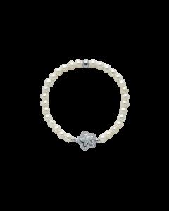 Bracciale Miluna in Perle con Fiore