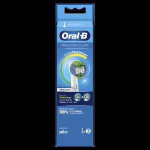 Oral-B Testina di ricambio Precision clean 3pz