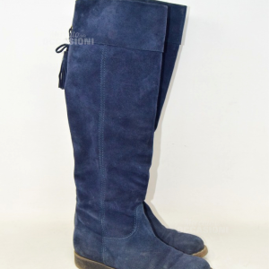 Boots Woman Janet Sport N° 36 Blue Suede