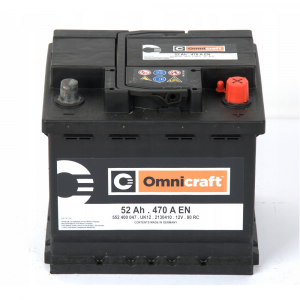 BATTERIA ORIGINALE FORD OMNICRAFT (EX MOTORCRAFT) 52Ah 470A 2130410