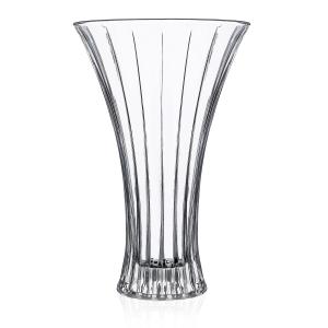 Vaso In Vetro Trasparente Modello TImeless H33 cm