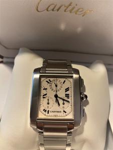Orologio secondo polso Cartier Tank Francaise