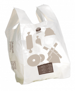 Extra shopper personalizzabile formato shopper: 40+12+12x70 cm.