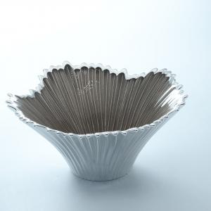 Coppa in vetro venezia 15x7 sabbia