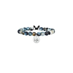 Bracciale Donna Symbols AGATA NERA | ELEGANZA