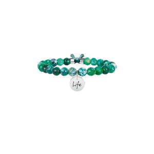 Bracciale Donna Symbols AGATA VERDE | ARMONIA