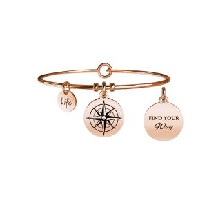 Bracciale Donna Symbols ROSA DEI VENTI | DIREZIONE