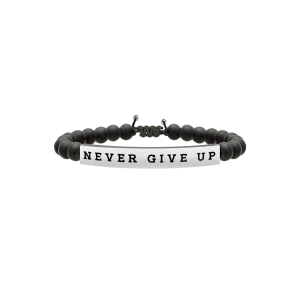 Bracciale Uomo Philosophy NEVER GIVE UP | TENACIA