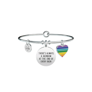 Bracciale Donna Philosophy THERE'S ALWAYS A RAINBOW AT THE END OF EVERY RAIN