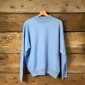 Maglione American Vintage Tadbow Pull Girocollo Azzurro