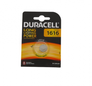 Duracell Pila litio DL1616 CR1616 3v pastiglia