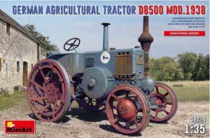 German Agricultural Tractor D8500