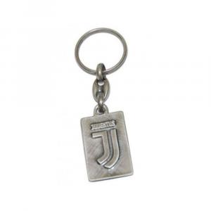 Juventus portachiavi metallo effetto antichizzato logo