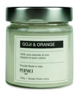 Candela di Soia Goji e Arancia Pernici