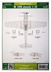 Me 109E stencils