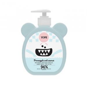 Yope Natural Antibacterial Hand Wash For Kids Pineapple & Coconut 400ml