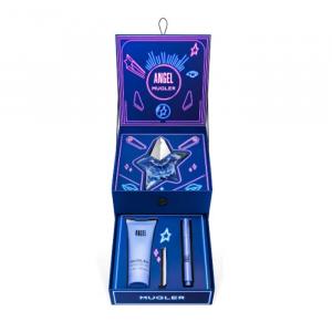 Mugler Angel Eau De Parfum Spray Ricaricabile 50ml Set 3 Parti 2020