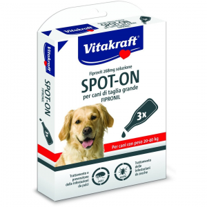 VITAKRAFT SPOT-ON 268ml ANTIPARASSITARIO PER CANI 120-40 KG