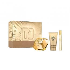 Paco Rabanne Lady Million Eau De Perfume Spray 80ml Set 3 Parti 2020