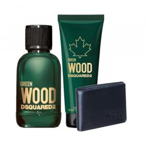 Dsquared2 Green Wood Pour Homme Eau De Toilette Spray 100ml Set 3 Parti 2020