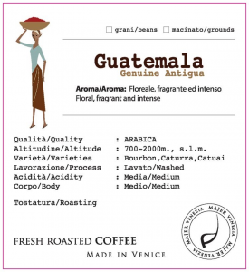 Coffee beans Majer Guatemala Genuine Antigua - 1000gr