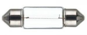 LAMPADA 12V 5W SILURO, LUNGHEZZA MM 35, ORIGINALE,