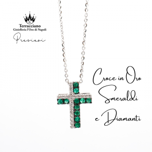 Croce di Smeraldi e Diamanti